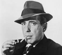 Actor Humphrey Bogart, boxeo