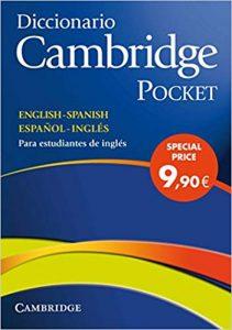 Diccionario Cambridge Pocket inglés español