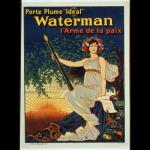 pluma waterman, pluma de la paz